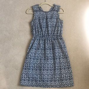 Skies are blue ikat print dress - offers welcome